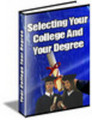 Selecting Your College And Degree