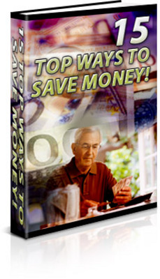 Product picture Saving Money Ideas : 15 Top Ways To Save Money