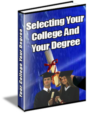 Product picture Selecting Your College And Degree