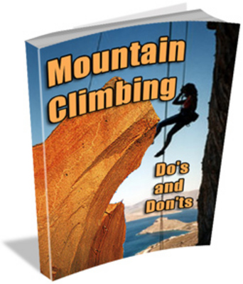 Product picture Training For Climbing : Mountain Climbing Dos And Donts